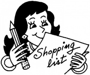 Shopping List - Handy Hints | DinnerInTenMinutes.com