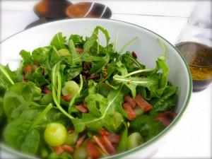 Dinnerintenminutes Com Blog Archive Jamie S Herby Salad In Ten Minutes